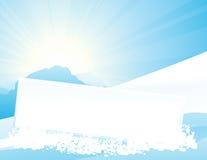 Blocco per grafici della montagna royalty illustrazione gratis
