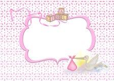 Blocco per grafici della neonata royalty illustrazione gratis