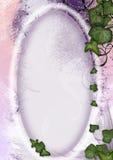 Blocco per grafici della pergamena - il fairy, elven illustrazione di stock