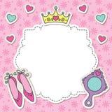 Blocco per grafici della principessa Immagini Stock