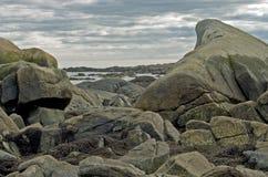 Blocco per grafici della roccia Fotografie Stock Libere da Diritti