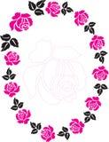 Blocco per grafici della Rosa Fotografia Stock Libera da Diritti