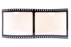 Blocco per grafici della striscia della pellicola Fotografie Stock