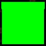 Blocco per grafici della striscia della pellicola di RGB Fotografie Stock Libere da Diritti