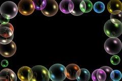 Blocco per grafici delle bolle Fotografia Stock Libera da Diritti