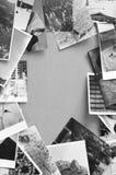 Blocco per grafici delle foto dell'annata Immagine Stock