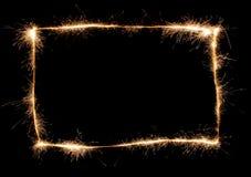 Blocco per grafici dello Sparkler illustrazione di stock
