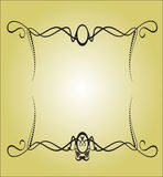 Blocco per grafici di ?alligraphy illustrazione vettoriale