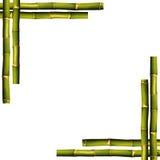 Blocco per grafici di bambù Fotografia Stock Libera da Diritti