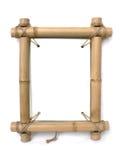 Blocco per grafici di bambù della foto Immagini Stock Libere da Diritti
