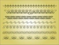 Blocco per grafici di calligrafia dell'elemento illustrazione vettoriale