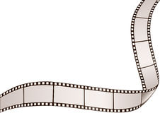 Blocco per grafici di Filmstrip Immagine Stock