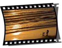 Blocco per grafici di Filmstrip Immagini Stock