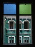 Blocco per grafici di finestra Fotografia Stock