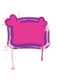 Blocco per grafici di giorno del biglietto di S. Valentino di fascino Immagini Stock