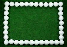Blocco per grafici di golf Fotografie Stock Libere da Diritti