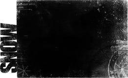 Blocco per grafici di Grunge con testo illustrazione vettoriale