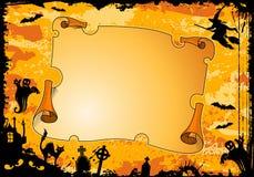 Blocco per grafici di Halloween Immagine Stock
