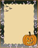 Blocco per grafici di Halloween Fotografia Stock