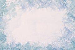 Blocco per grafici di inverno Immagine Stock
