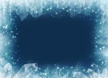 Blocco per grafici di inverno?. Immagini Stock Libere da Diritti
