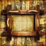 Blocco per grafici di legno illustrazione di stock
