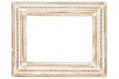 Blocco per grafici di legno decorativo illustrazione vettoriale