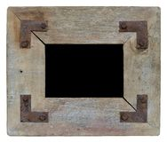 Blocco per grafici di legno della foto dell'annata Fotografia Stock Libera da Diritti
