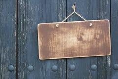 Blocco per grafici di legno di Grunge Fotografia Stock