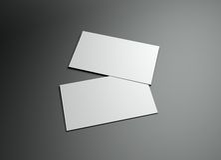 Blocco per grafici di Namecard Fotografie Stock