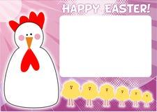 Blocco per grafici di Pasqua Fotografia Stock