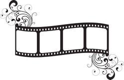 Blocco per grafici di pellicola Immagini Stock