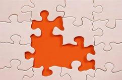 Blocco per grafici di puzzle Fotografia Stock Libera da Diritti
