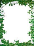 Blocco per grafici di puzzle di natale Fotografia Stock