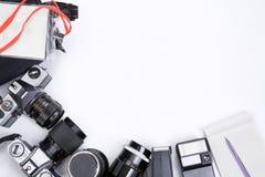 Blocco per grafici di strumentazione di Photojournalism immagini stock libere da diritti