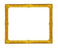 Blocco per grafici dorato Immagini Stock
