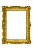 Blocco per grafici dorato Immagini Stock Libere da Diritti