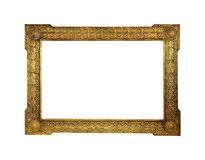 Blocco per grafici dorato Fotografie Stock