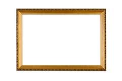 Blocco per grafici dorato Immagine Stock