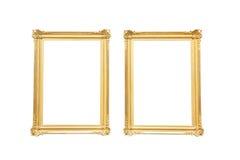 Specchio dorato antico isolato foto stock iscriviti gratis - Specchio dorato antico ...