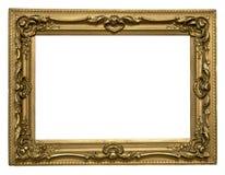 Blocco per grafici dorato antico Immagini Stock