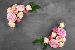 Blocco per grafici floreale immagine stock