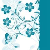 Blocco per grafici floreale Fotografie Stock Libere da Diritti