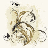 Blocco per grafici floreale royalty illustrazione gratis