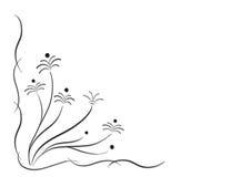 Blocco per grafici floreale decorativo Fotografia Stock Libera da Diritti
