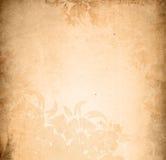 Blocco per grafici floreale degli ambiti di provenienza di stile Fotografie Stock
