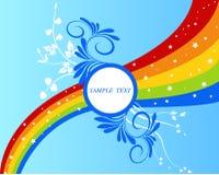 Blocco per grafici floreale - vrctor royalty illustrazione gratis
