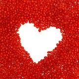 Blocco per grafici a forma di del cuore Immagini Stock