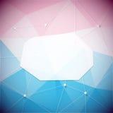 Blocco per grafici geometrico Immagine Stock