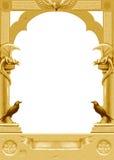 Blocco per grafici gotico dorato Fotografie Stock
